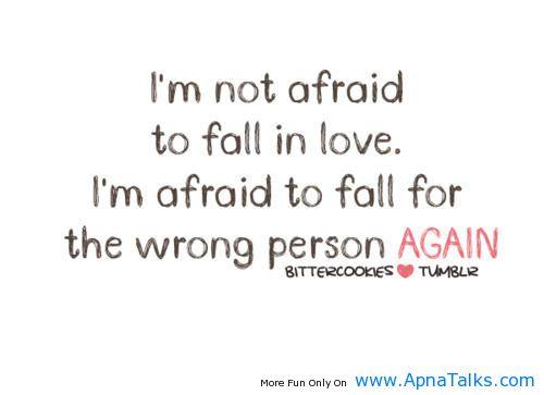 To Fall In Love Wrong Quotes Apnatalkscom Apnatalks