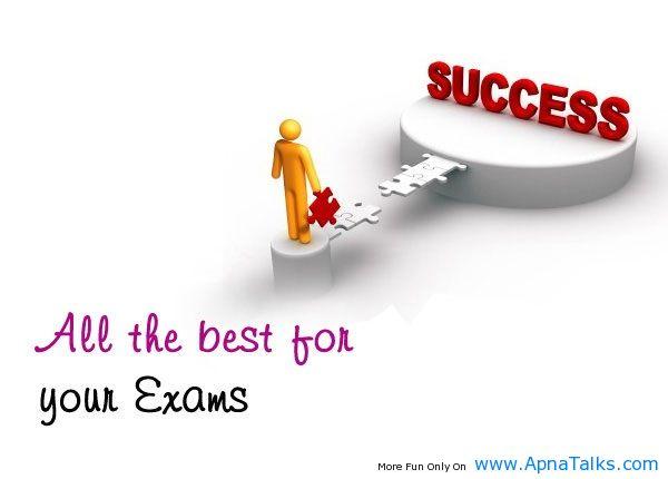 Exam Wishes Success Quotes Apnatalkscom Apnatalks