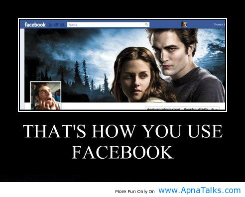 Thats How You Use Facebook Funny Wallpapers ApnaTalks