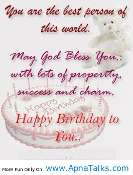 May God Bles You Mind Blowing Birth Day Quotes Apnatalkscom