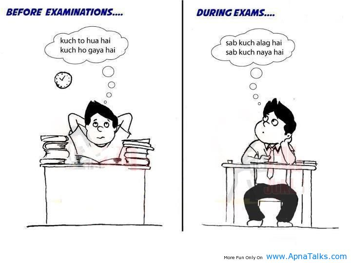 Before Exams During Exams Result funny quotes