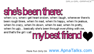 My Best Friend Friendship Quotes Apnatalks Com Apnatalks